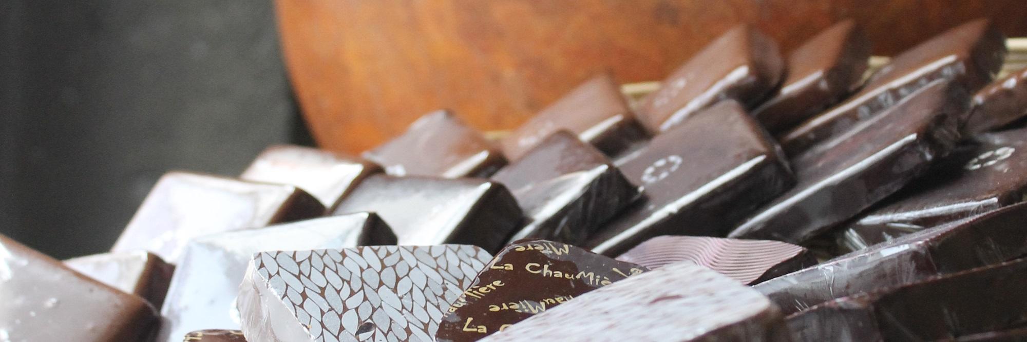 Bouchées de chocolat maison